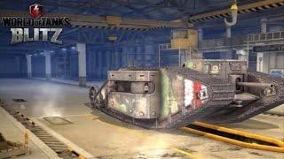 World of Tanks Blitz Mark 1* Heavy Tank Gameplay