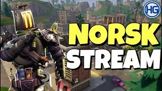 🔴G-R POUR WINS! Norsk Fortnite Stream // Code Créateur: HIGHGROUND