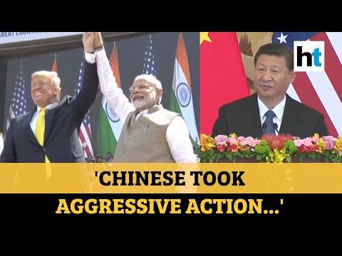 US backs India: Trump's minister slams China's Ladakh move after app ban hint