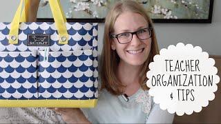 Teacher Bag Organization & Classroom Favorites!