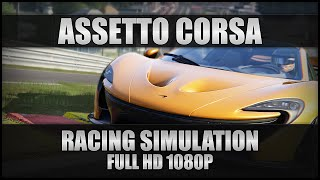 Assetto Corsa Gameplay - Racing Simulation - PC Full 1080p 60FPS (No Commentary)