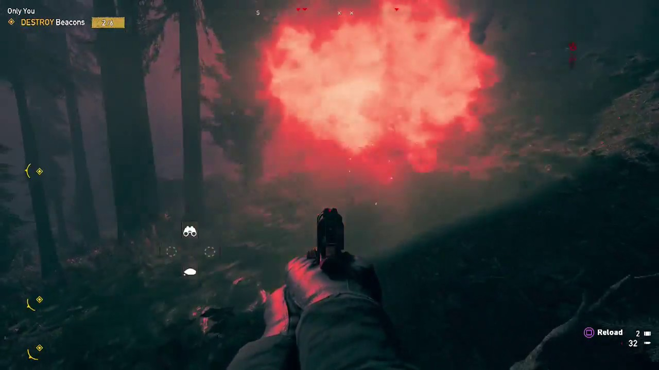 Far Cry 5 Destroy Beacons Only You Youtube
