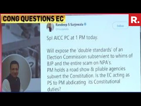 Congress To EXPOSE The Double Standards Of The Election Commission