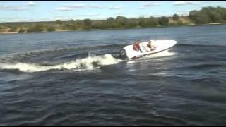 Тест-драйв катера SCANDIC Havet 480 с мотором YAMAHA F60(Катер Scandic Havet 480 с алюминиевым корпусом АМГ-5 и стеклопластиковой палубой. Очередной тест-драйв катера
