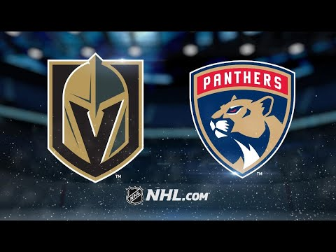 Barkov, Ekblad lead Panthers past Golden Knights