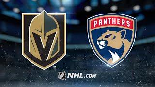 Barkov, Ekblad lead Panthers past Golden Knights