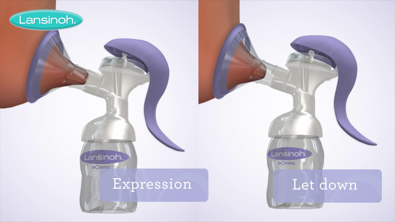 lansinoh manual breast pump how to use youtube rh youtube com How a Hand Pump Works Lansinoh mOmma Bottle