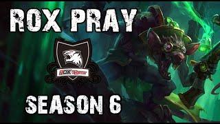 ROX Pray Twitch vs Kogmaw ADC Ranked Challenger Korea