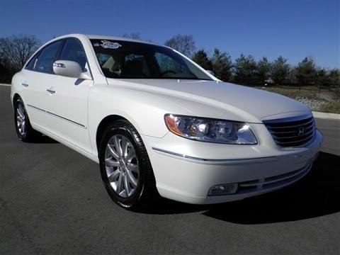 Wilson County Hyundai >> sold.2010 HYUNDAI AZERA LIMITED PEARL WHITE 47K LEATHER ...