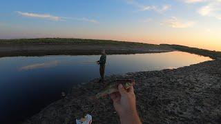 Рыбалка Пересохшая Река Перспективное Место Рыбалка На Щуку и Окуня