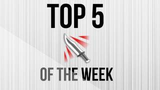 Top 5 Throwing Knives of the Week - Week 5