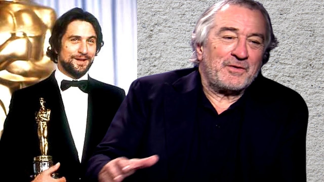 Robert De Niro Remembering His Oscar Win For Raging Bull In Very Few Words Youtube