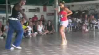 Stage Salsa Cubana - Barbara Jimenez e Roly Maden