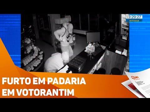 Furto em padaria em Votorantim - TV SOROCABA/SBT