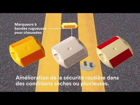 Marquages pour chaussées 3M : pour un retour à la maison en sécurité.