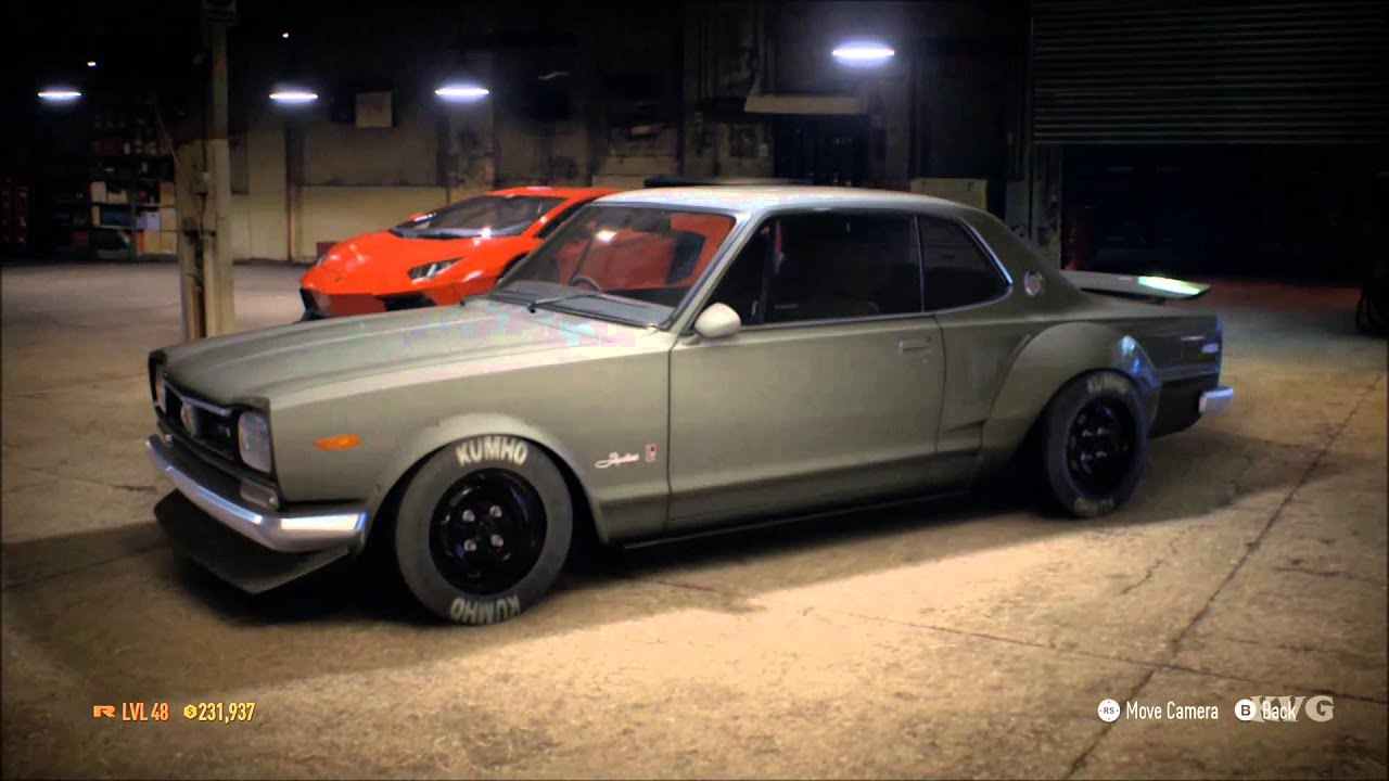 need for speed 2015 - nissan skyline gt-r kpgc10 1971 - tuning