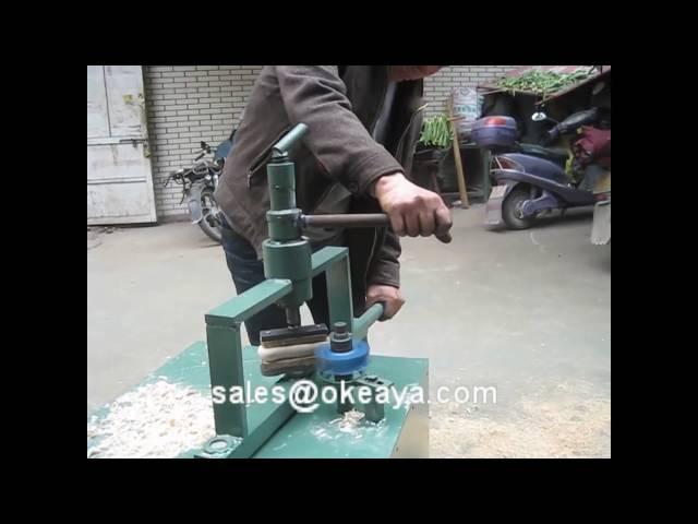wooden handle making machine/ Wooden spoon making machine