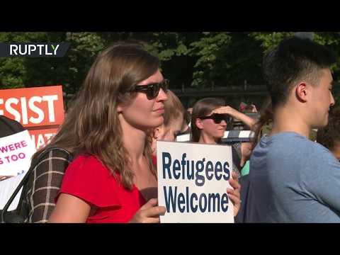 الأمريكيون يرحبون باللاجئين في رسالة للبيت الأبيض  - 03:20-2017 / 6 / 22