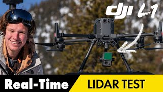 New DJI Zenmuse L1 LiDAR - Real-Time 3D data Review