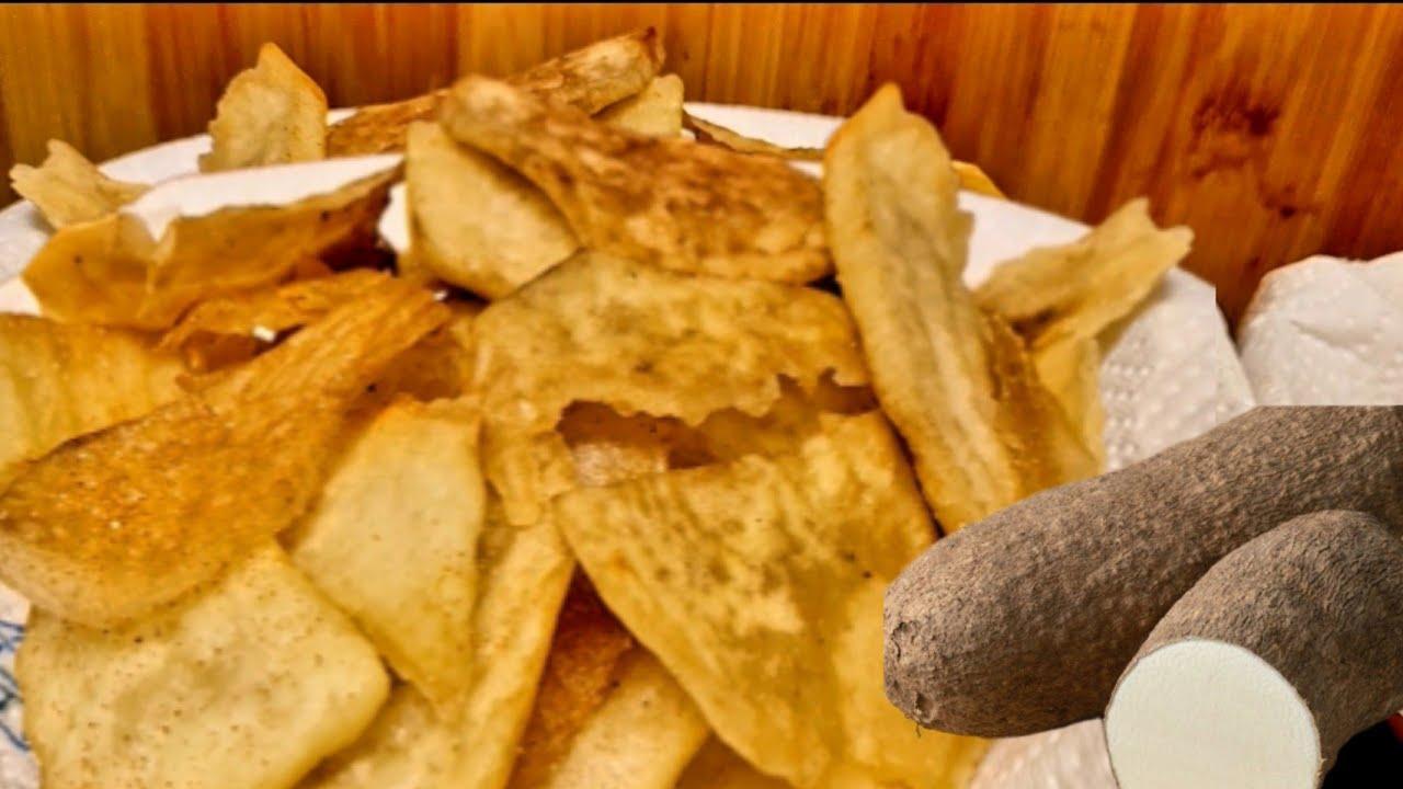 Download Comment Je Réalise Les Chips D'igname #chips #igname #chipsdigname