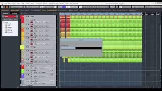 Как перенести треки из проекта в проект в Cubase 8