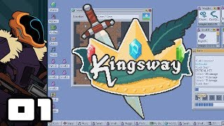 Let's Play Kingsway [Roguelike Roulette] - PC Gameplay Part 1 - McDiesalot Is Here To Save The Day!