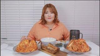 Yang soo bin)살면서 이렇게 매운 김치는 첨이야,, 짜릿해,,중독돼,, spicy Kimchi MUKBANG