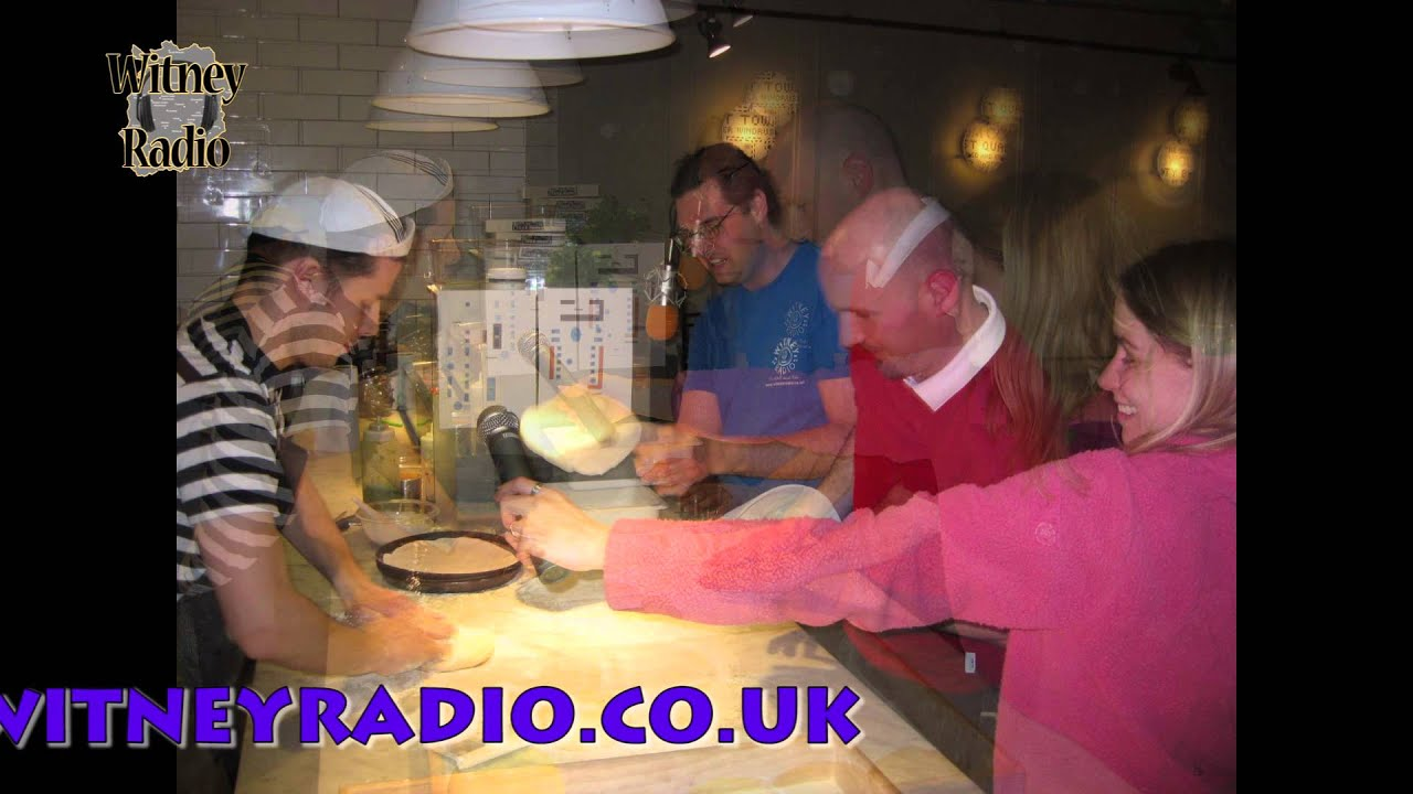 Witney Radio Visits Pizza Express 010313