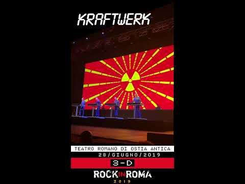 KRAFTWERK - Radioactivity | ROCK IN ROMA 2019 | Teatro Romano Ostia Antica