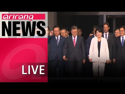 [LIVE/ARIRANG NEWS] President Moon sets off for Washington for sit-down with Trump - 2018.05.21