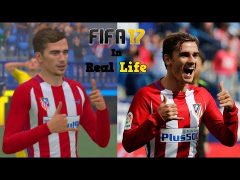FIFA celebrations in Real Football