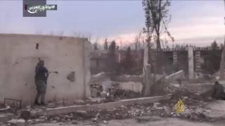 اقتتال فصائل المعارضة السورية بالغوطة الشرقية