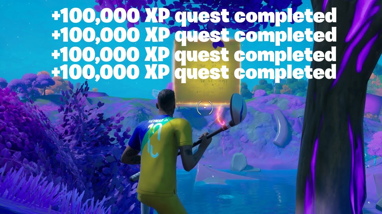 Download THE EASIEST WAY TO GET UNLIMITED XP IN FORTNITE SEASON 8