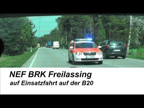 NEF 76/1 BRK Freilassing [Einsatzfahrt auf B20]