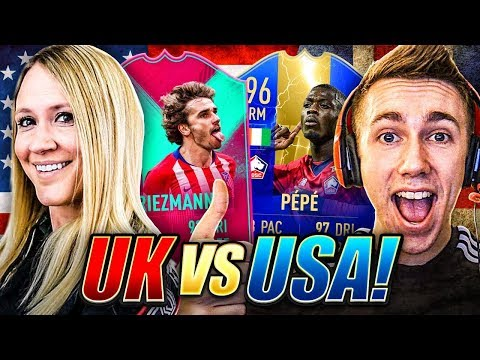 FIFA 19 UK vs USA PACK N PLAY W/ MINIMINTER!!