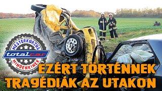 Ezért történnek tragédiák az utakon - Totalcar Mesterkurzus
