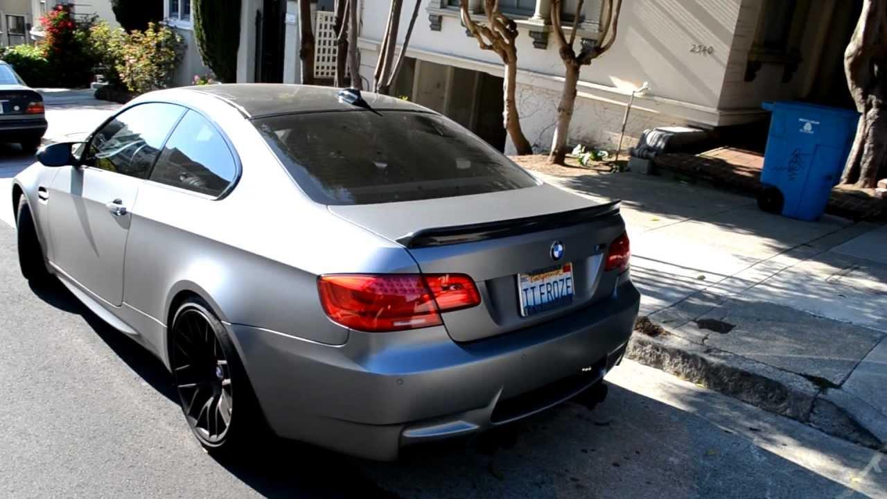 RARE E92 Frozen Grey BMW M3!!! - YouTube