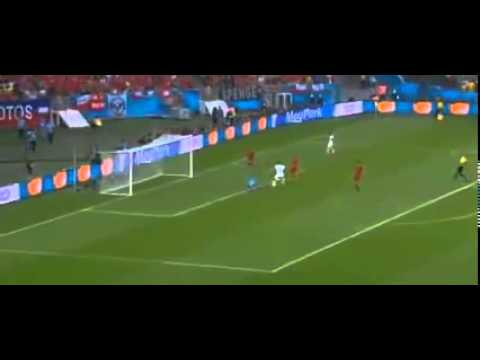 Chile  CRUSH  Spain 2 0 ~ Match Highlights and Goals ~ World Cup 2014