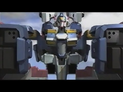 [PS] 新スーパーロボット大戦 SRX 合体シーン Shin Super Robot Wars SRX Combinatione Movie