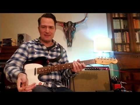 Country Guitar Licks #01 - Cascading Pull Offs In Groups Of Six