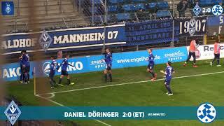 SV Waldhof Mannheim 07 vs. Stuttgarter Kickers