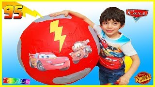 Egg Surprise Opening Review with Disney Toys