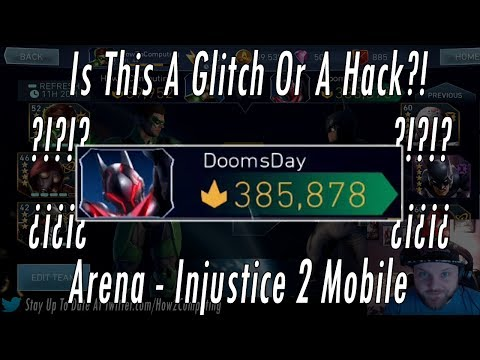 Glitched Or Hacked Arena Account??? Is This A Glitch Or A Hack? – Arena Mode Injustice 2 Mobile Game