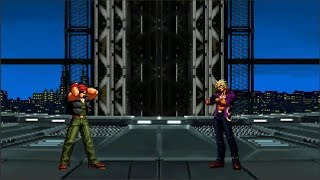 Ralf VS. Shen [THE KING OF FIGHTERS BLAZBLUE VERSION]