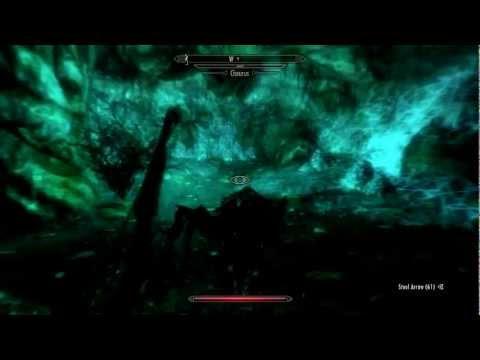 The Elder Scrolls V: Skyrim (Wood Elf Gameplay)