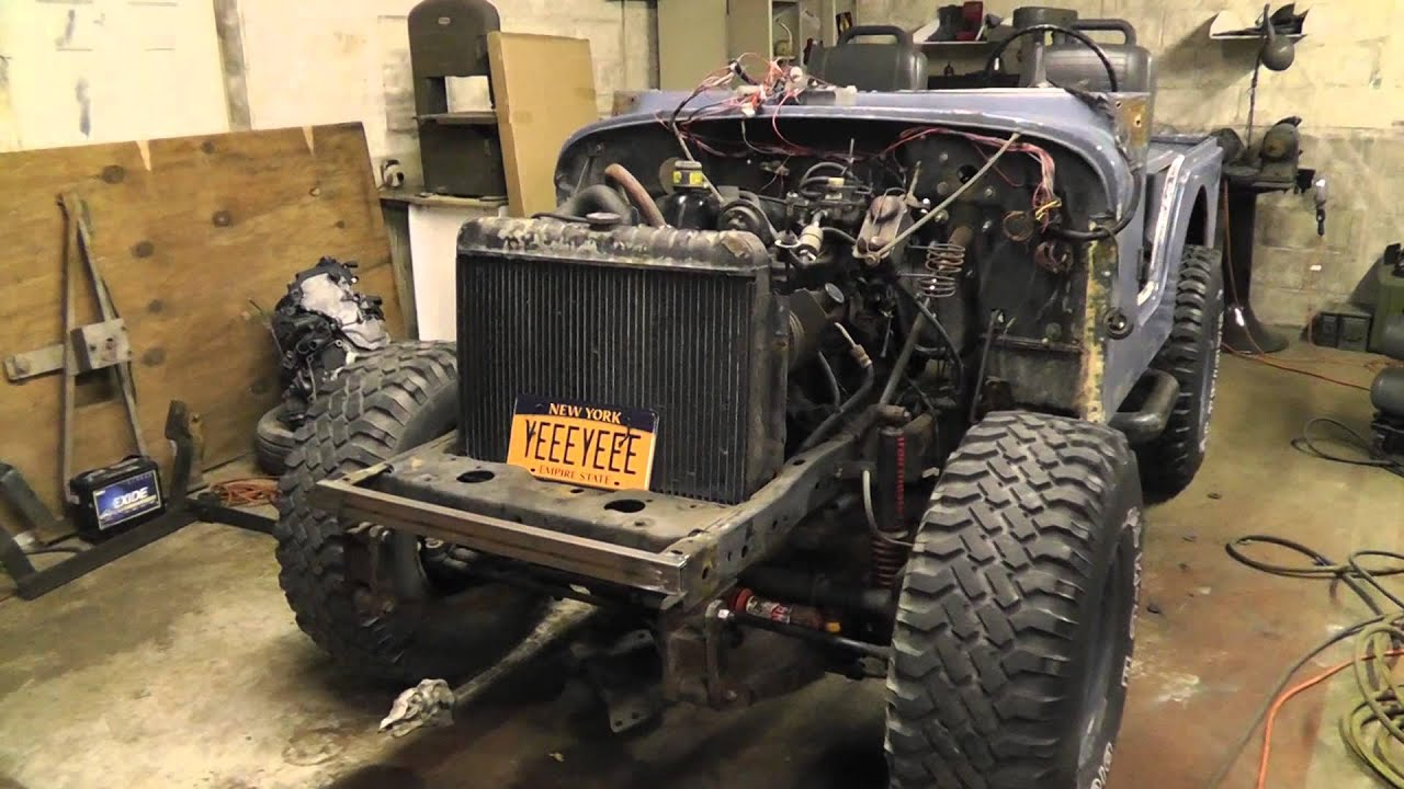 small resolution of project cj5 tub removal