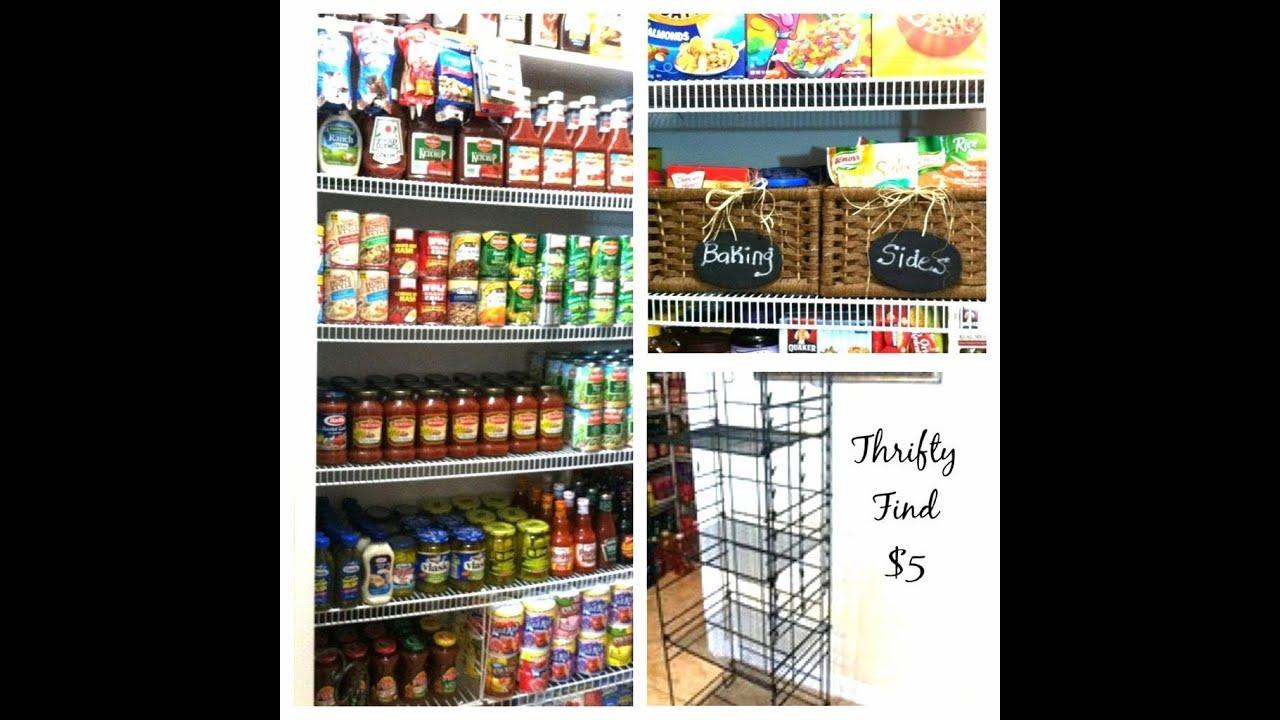 Kitchen Storage Ideas Youtube: Pantry Organization Ideas: How To Maintain Your Stockpile