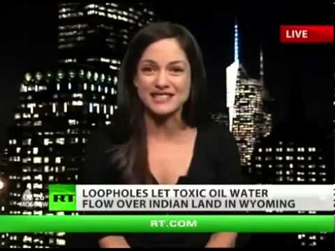 World News Taday   Native American land used as toxic dump