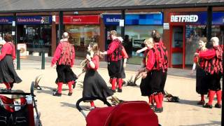 Iron Men & Severn Gilders at Telford Town Centre