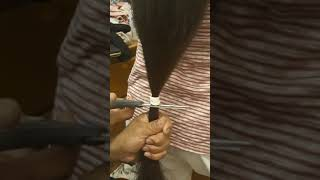 Cutting my mons looong hair :O